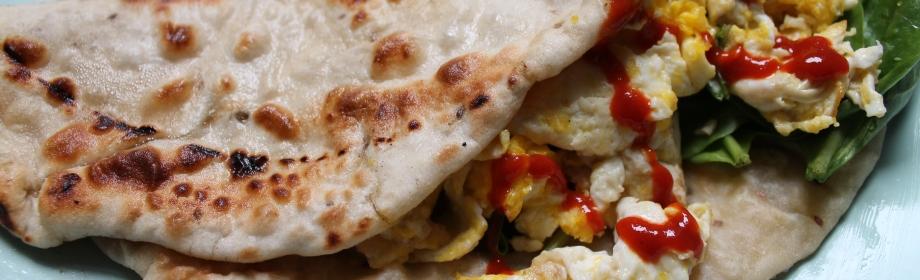 Aloo Paratha BreakfastBurrito