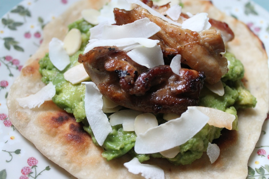 Indian Chicken and AvocadoTaco