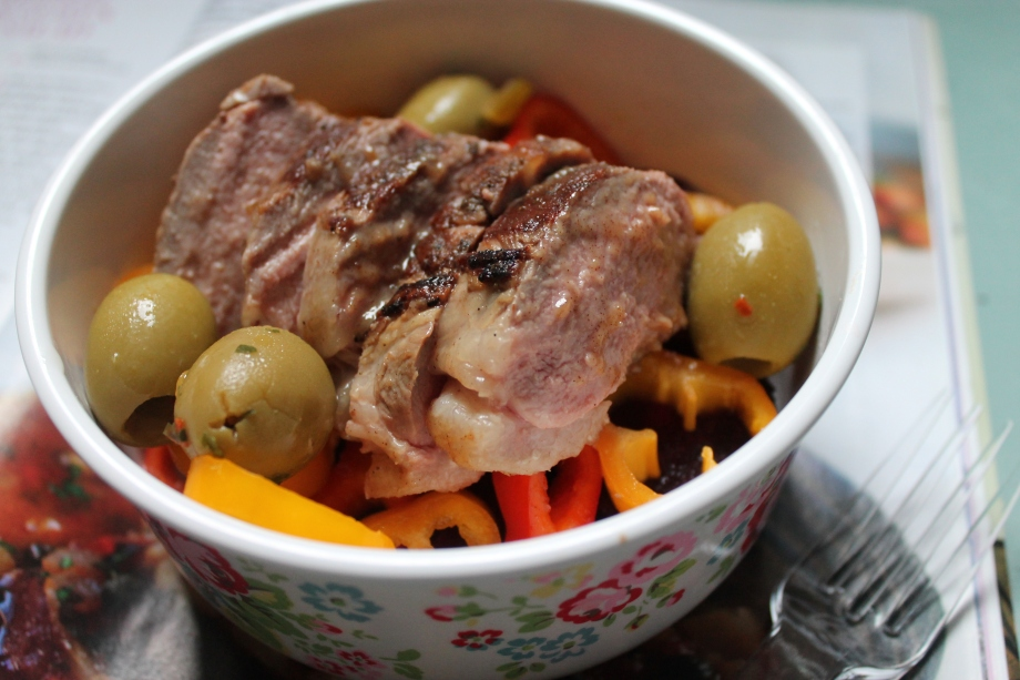 Lunchbox Special: Date and Tahini Glazed DuckSalad