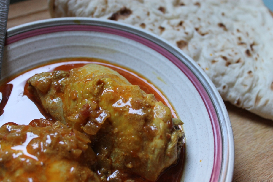 Comfort Food: North Indian Chicken Curry
