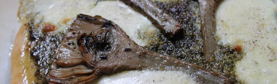 Artichoke and Kale PestoPizza