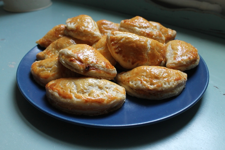 Squash and Goat's CheesePasties