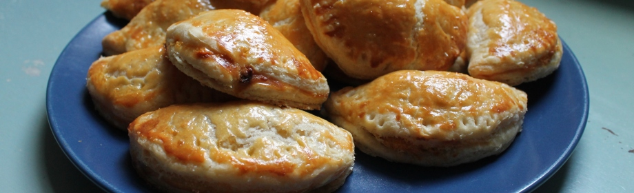 Squash and Goat's Cheese Pasties