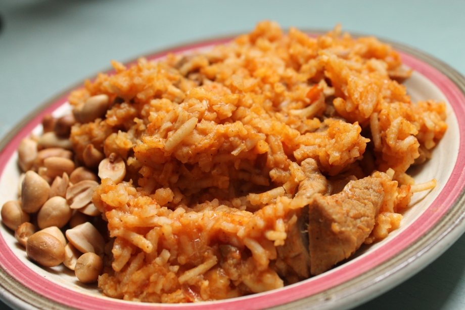 Indian-style Jollof Rice