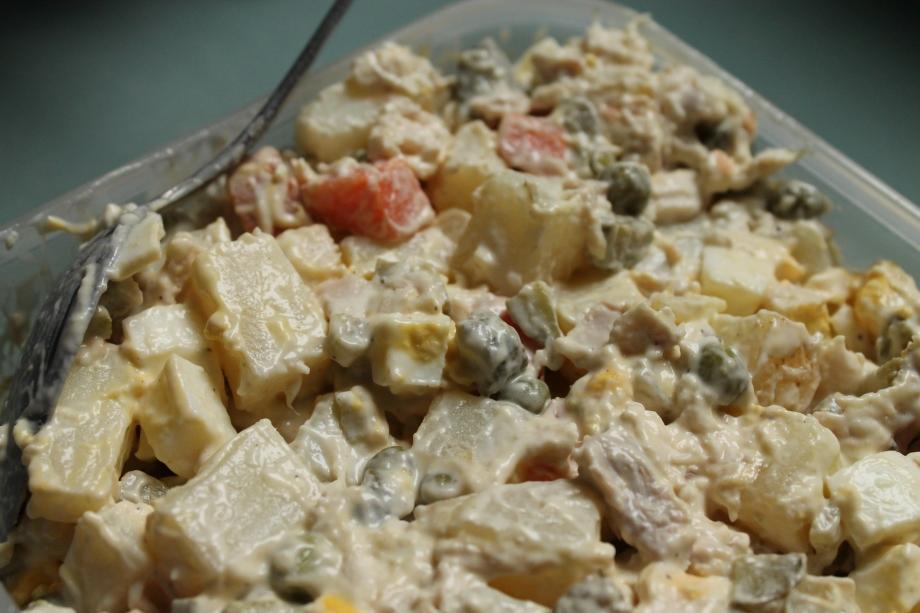 Iranian Potato Salad